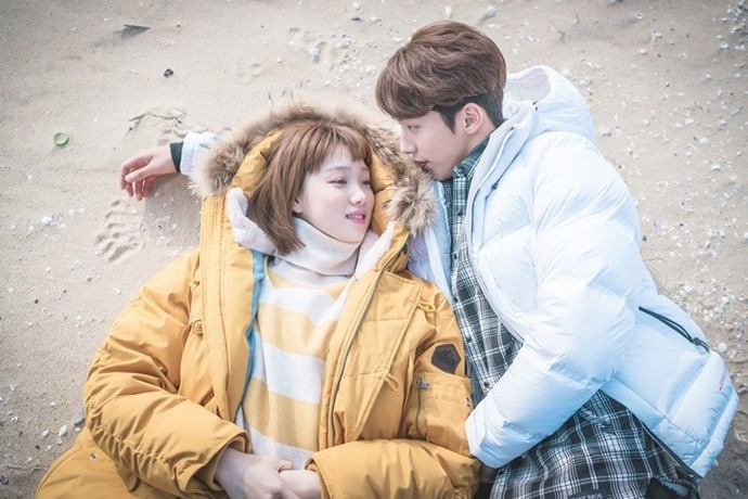 "22 Of Lee Sung Kyung And Nam Joo Hyuk's Cutest Moments On ""Weightlifting Fairy Kim Bok Joo"""