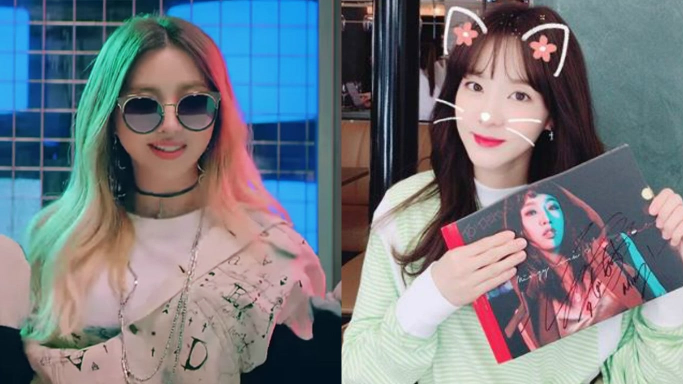 Sandara Park Shows Support For Fellow Former 2NE1 Member Gong Minzy And Her New Solo Album