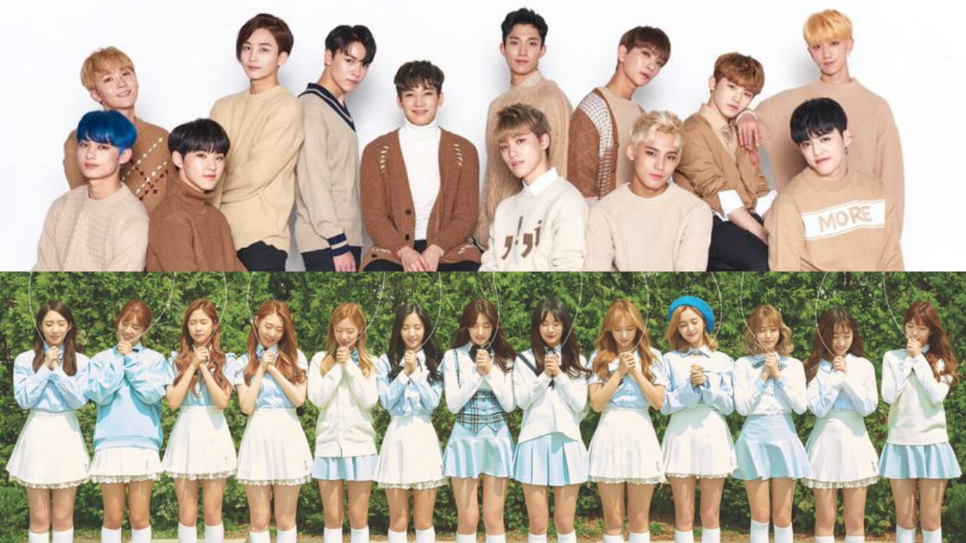 Cosmic Girls And SEVENTEEN To Work Together As New Models For School Uniform Brand