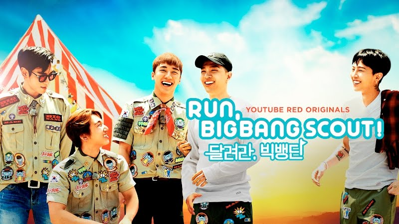 BIGBANG Releases Original Series On YouTube Red, Run, BIGBANG Scout!