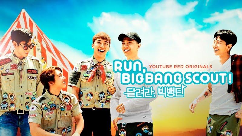 "BIGBANG Releases Original Series On YouTube Red, ""Run, BIGBANG Scout!"""