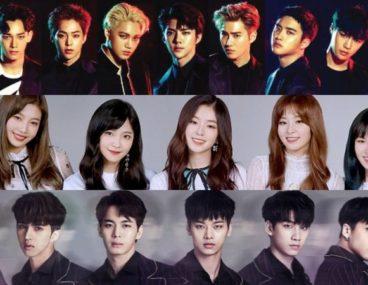 EXO Red Velvet VIXX