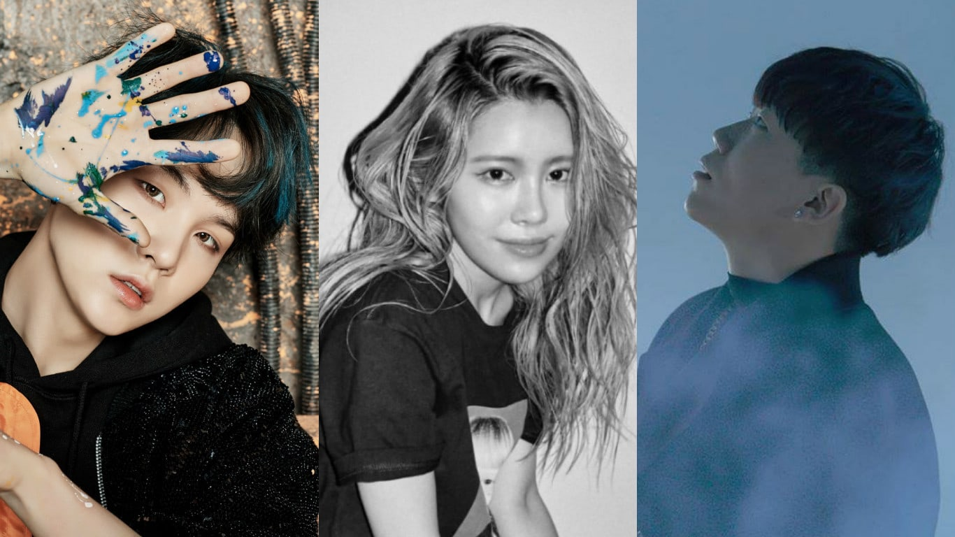 """Suran Thanks BTS's Suga And Changmo For Helping Her With Her First Chart-Topping Track """"Wine"""""""