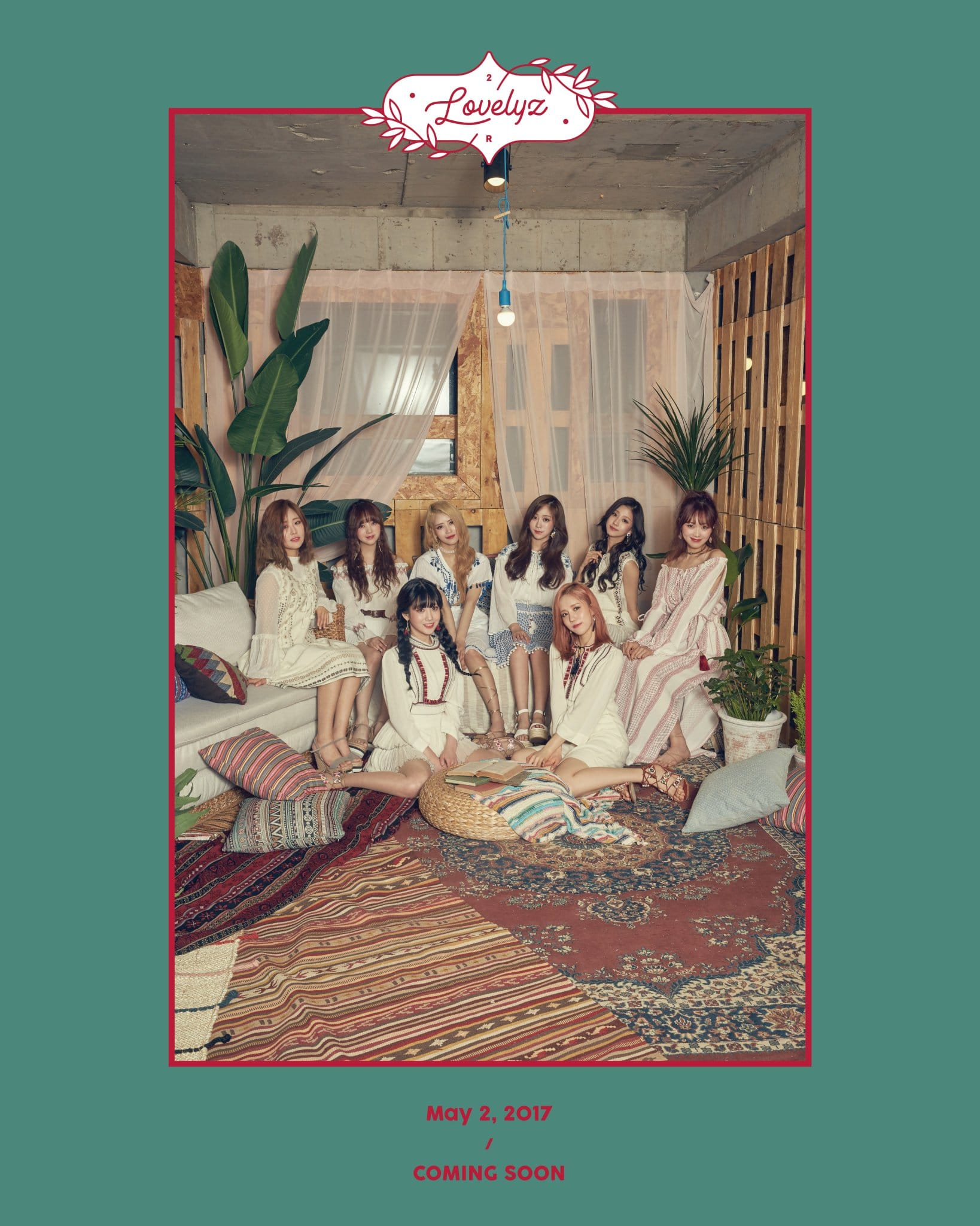 "Update: Lovelyz Drops Group Teaser Photo And Full Prologue Film For ""Now, Us"""