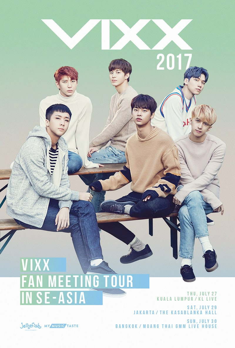 VIXX Announces Fan Meeting Tour In Southeast Asia To Launch In July