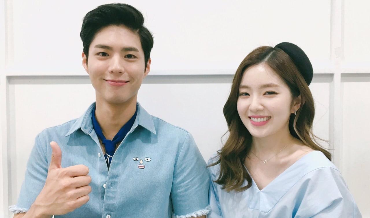 Park Bo Gum And Red Velvets Irene To Reunite As Music Bank MCs
