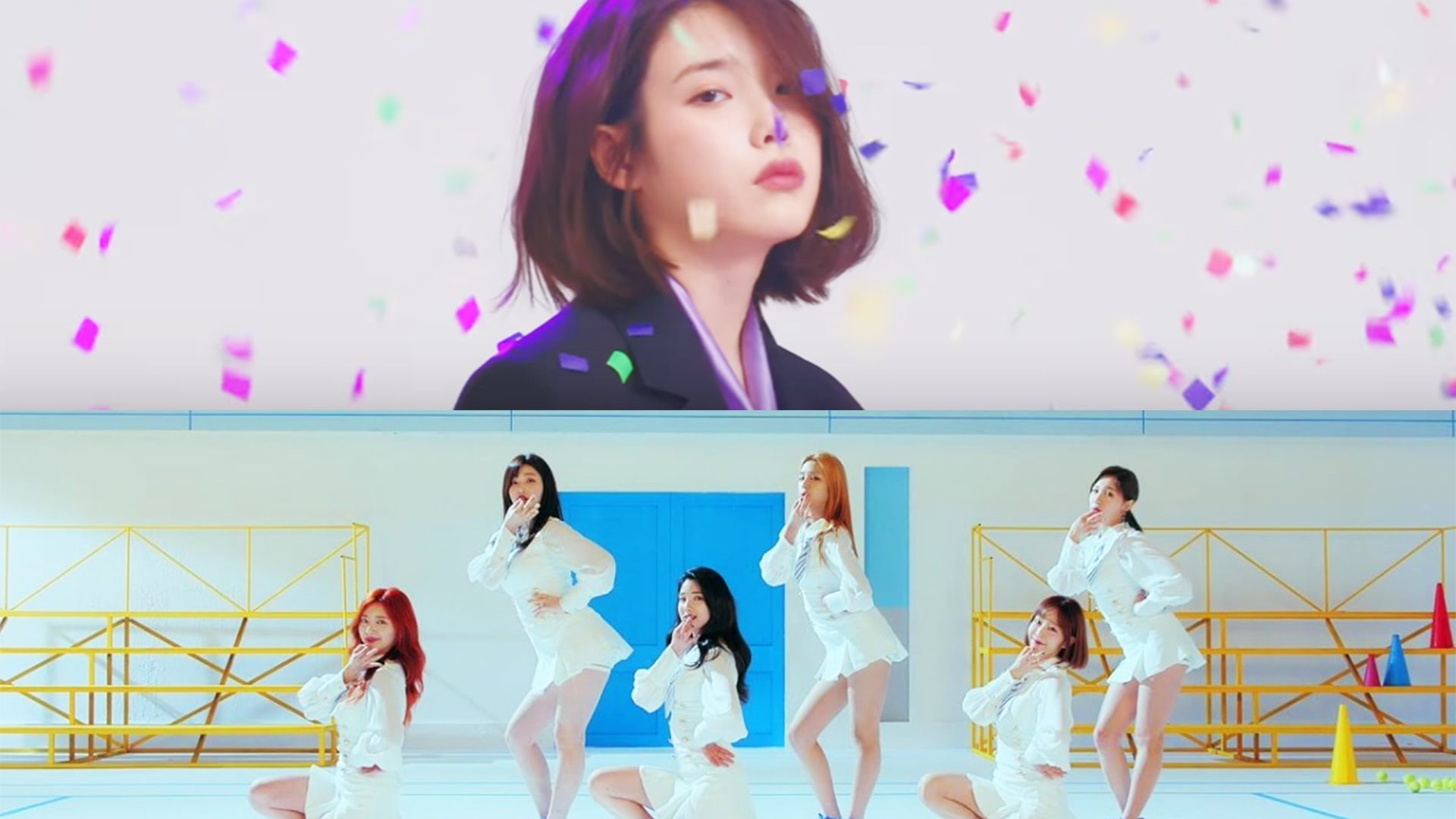 """People Are Contesting LABOUM's Unexpected Win Over IU On Last Night's Episode Of """"Music Bank"""""""