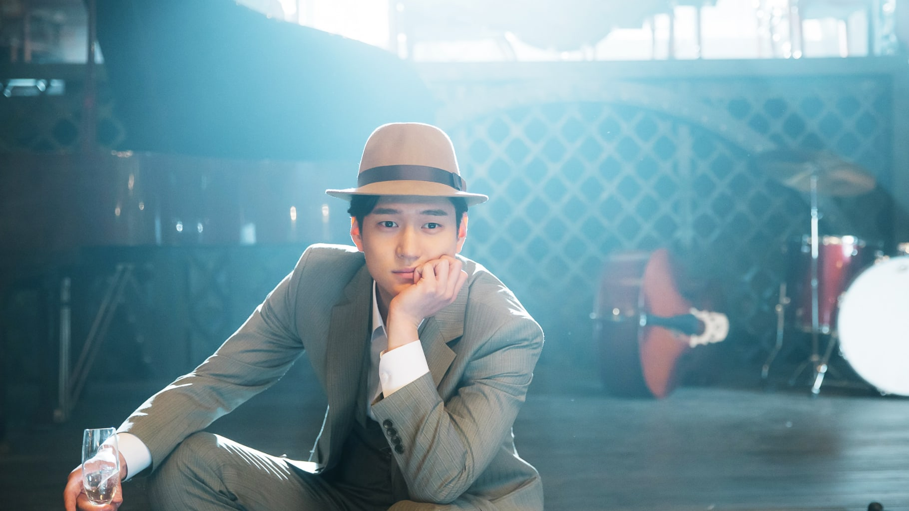 Watch: Go Kyung Pyo Gets Adorably Scared Around Guns In Chicago Typewriter Behind-The-Scenes Video