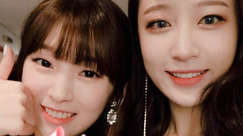 EXID's Hani Shows Off Her Success As A Fan Of Oh My Girl's Arin