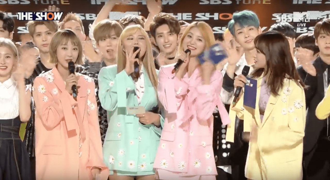 Watch: EXID Takes 3rd Win For Night Rather Than Day On The Show, Performances By DIA, SF9, PRISTIN, And More