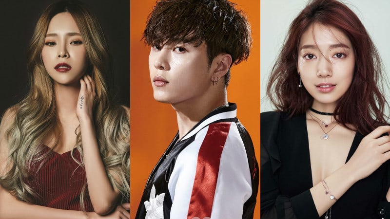 Highlights Yong Junhyung Thanks Heize And Park Shin Hye For Supporting His New Digital Single