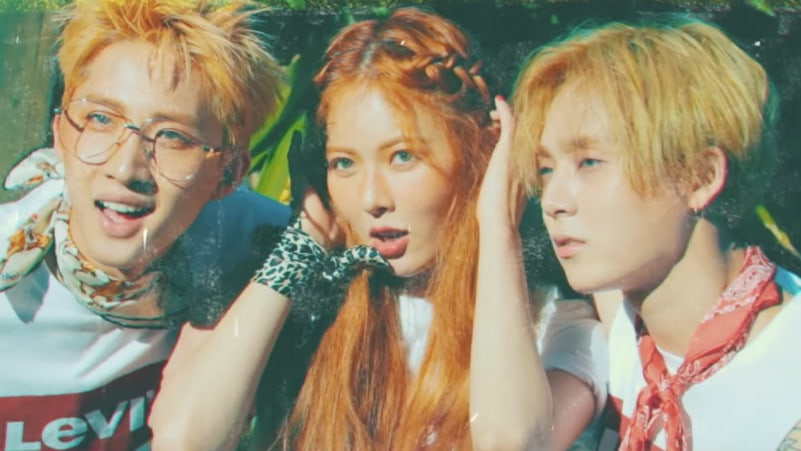 Triple H Talks About First Impressions And Why Hyuna Went With Triple H Over Troublemaker
