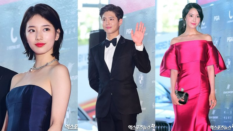 Korean Actors Dazzle At The 53rd Baeksang Arts Awards Red Carpet