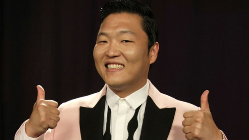 PSY Teases First Glimpse Of Upcoming Album Track List