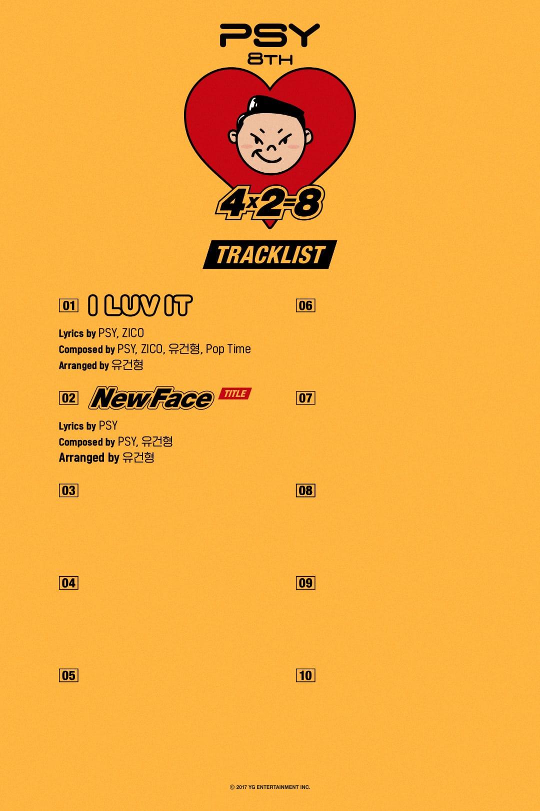 PSY >> Preparando Nuevo Album - Página 3 PSY-Tracklist