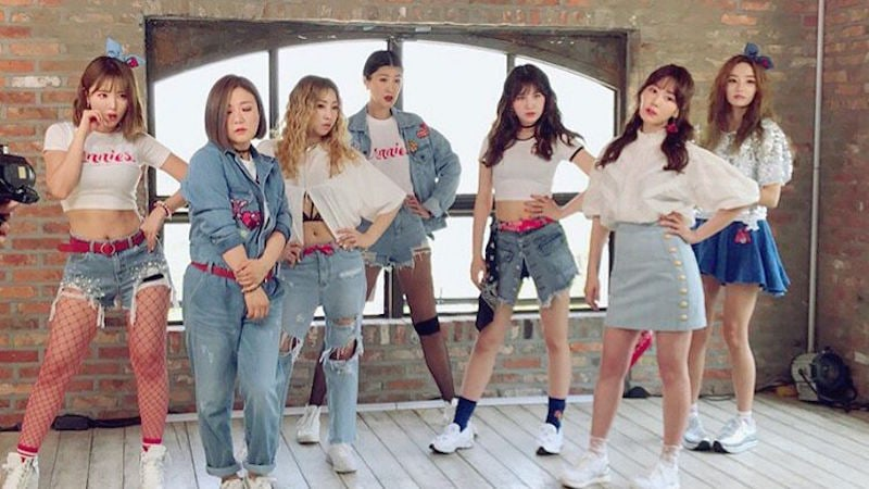 Sisters Slam Dunk Season 2 Reveals Outfits For Unnies Stage On Music Bank