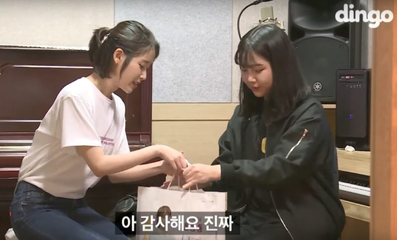 IU's Gift To Lucky Fan Revealed To Have A Shocking Price