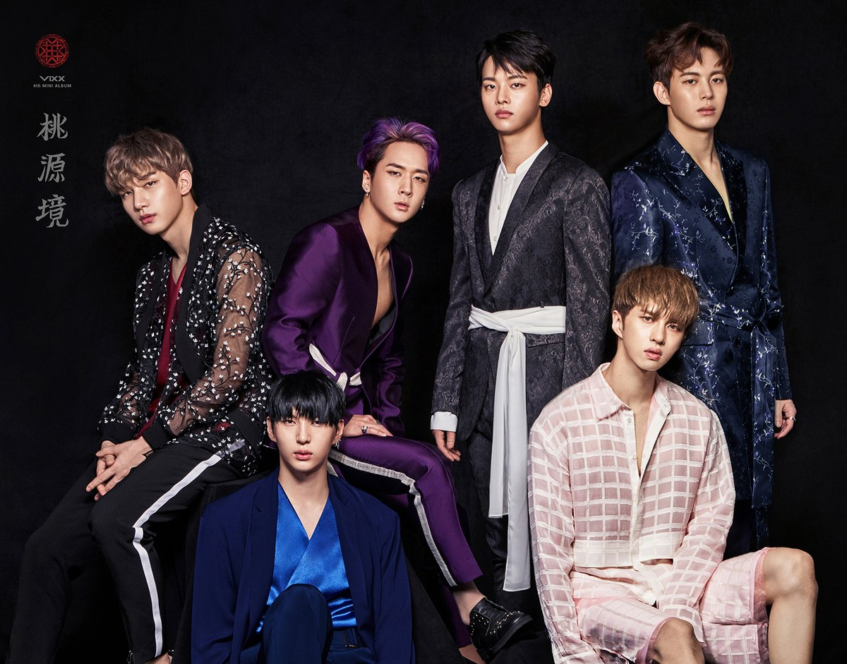 Update: VIXX Drops More Individual Concept Photos, This Time With Each Member's Birth Stone