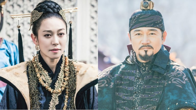 The King Loves Reveals Intense Stills Of Key Supporting Characters