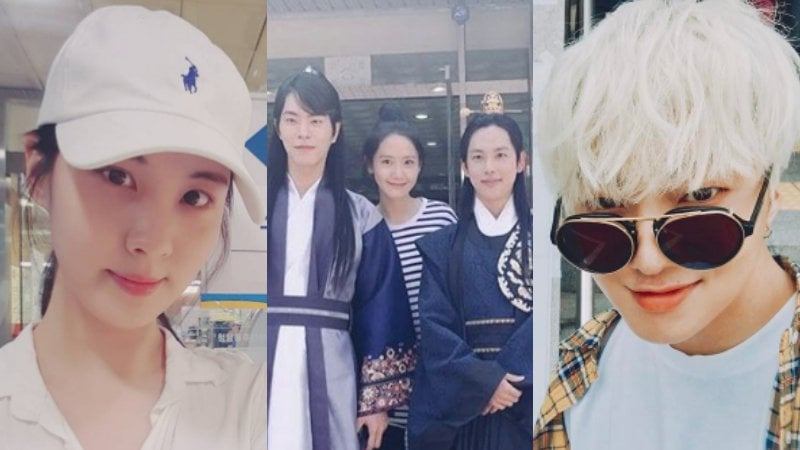 Stars Participate In Early Voting For Korea's Next President