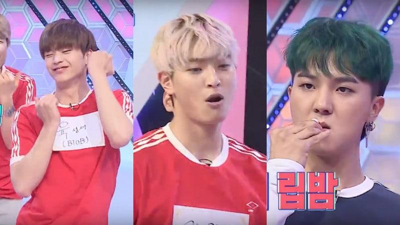 Watch: WINNER's Song Mino, 2AM's Jung Jinwoon, And BTOB's Yook Sungjae Have An Epic Dance Off