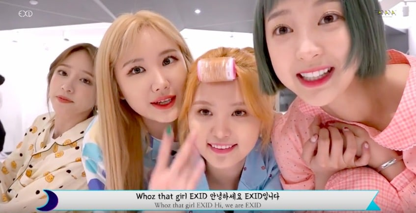 """Watch: EXID Releases A Fun Night Version Of """"Night Rather Than Day"""""""