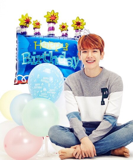 EXOs Baekhyun Shines Bright Like The Light He Is Through Fans Heartfelt Birthday Projects