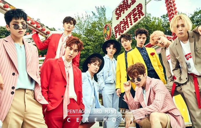 "Update: PENTAGON Releases Highlight Medley Of Upcoming Album ""Ceremony"""
