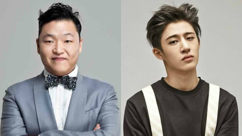 PSY Posts About Generation Gap With iKON's B.I