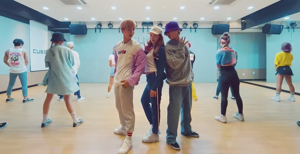 Watch: Triple H Has Fun As They Get Down To 365 Fresh In Dance Practice Video