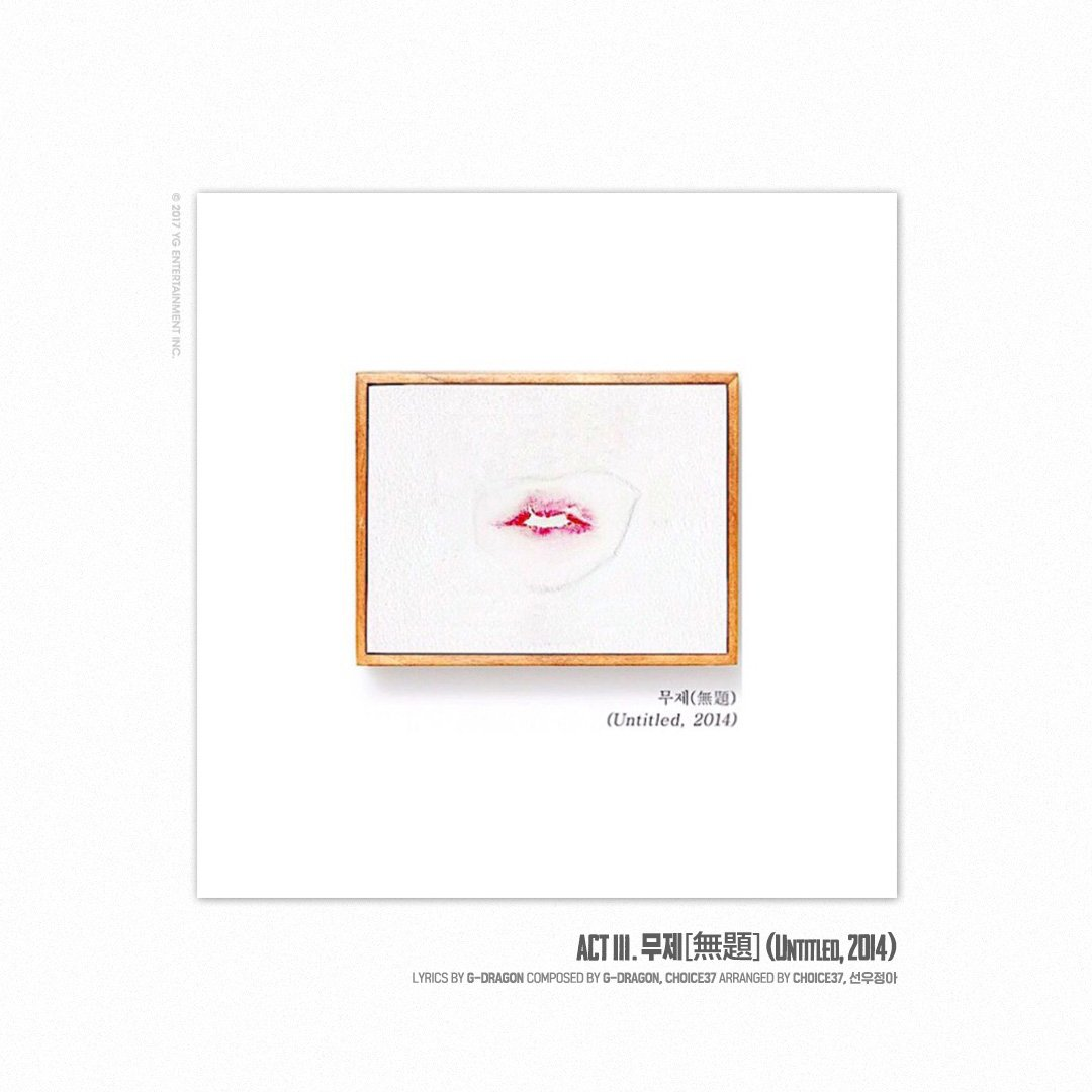 Update G Dragon Drops Track List And Cover Images For Upcoming Solo Album