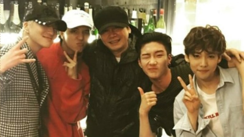 Yang Hyun Suk Gives Props To Comedian Yang Se Hyung For Helping WINNER Dominate Music Charts