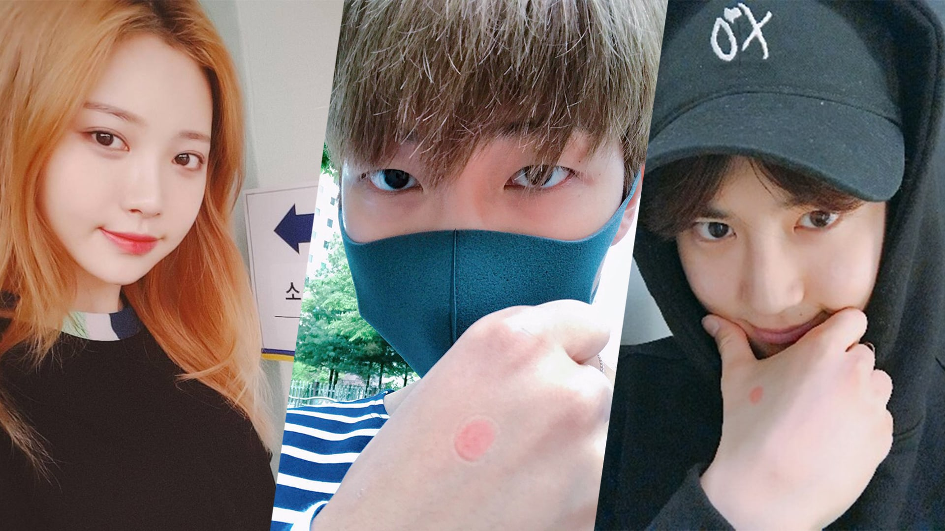 Celebrities Complete Their Civic Duty And Vote For Korea's Next President On Election Day
