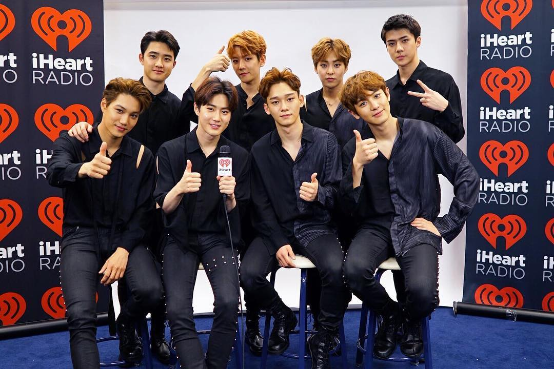 Watch: EXO Greets International Fans And Shares Spoiler About Comeback In iHeartRadio Interview