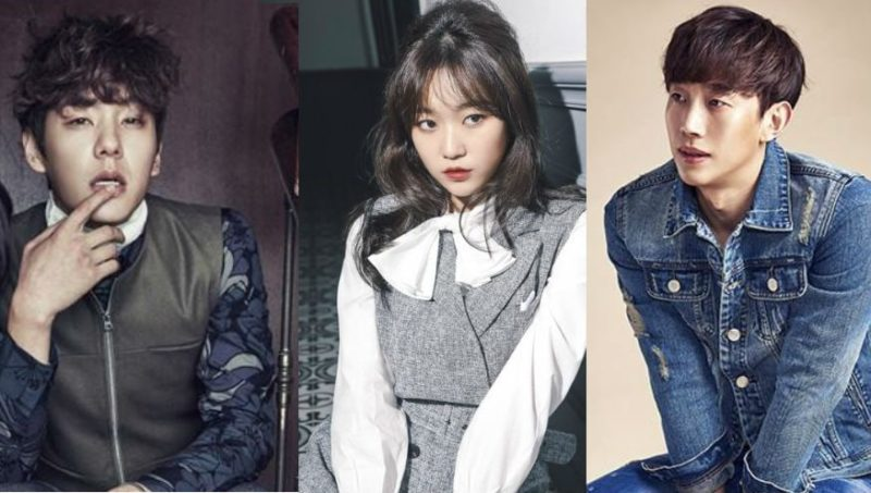Actress Kim Seul Gi Shows Off Squad Goals With Actors Kwak Si Yang And Kang Ki Young