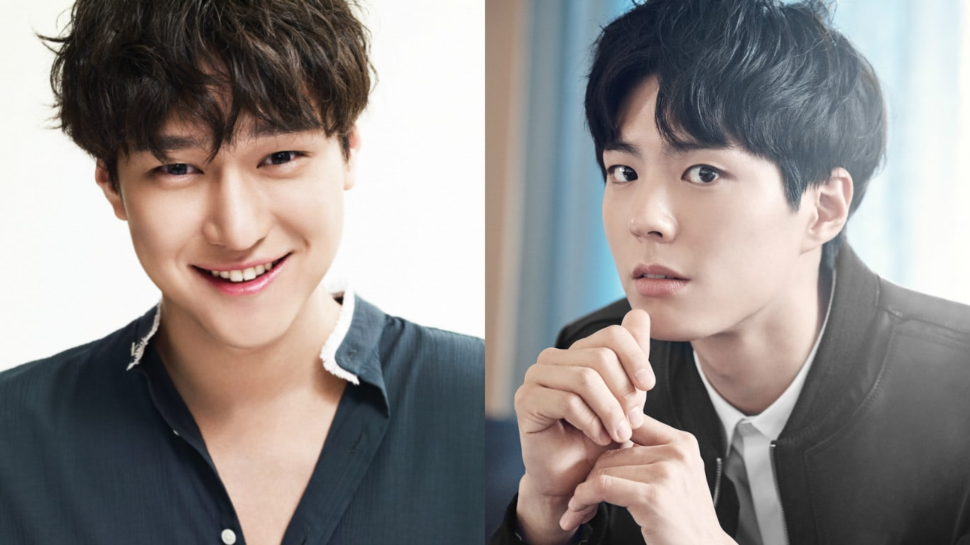 "Park Bo Gum Sends Close Friend Go Kyung Pyo A Gift To Show His Support For ""Chicago Typewriter"""