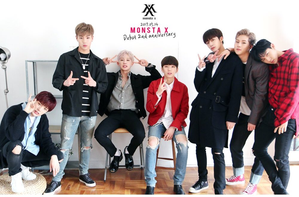 MONSTA X Writes Loving Messages To Their Fans For Their 2nd Debut Anniversary