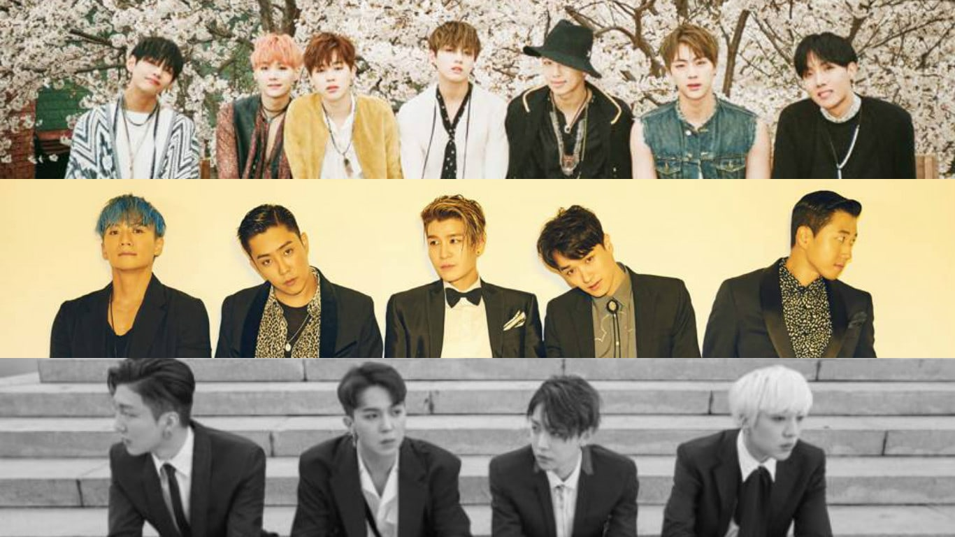 May Boy Group Brand Reputation Rankings Revealed