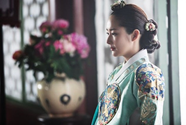 Park Min Young Looks Elegant In A Hanbok For Upcoming KBS Historical Drama