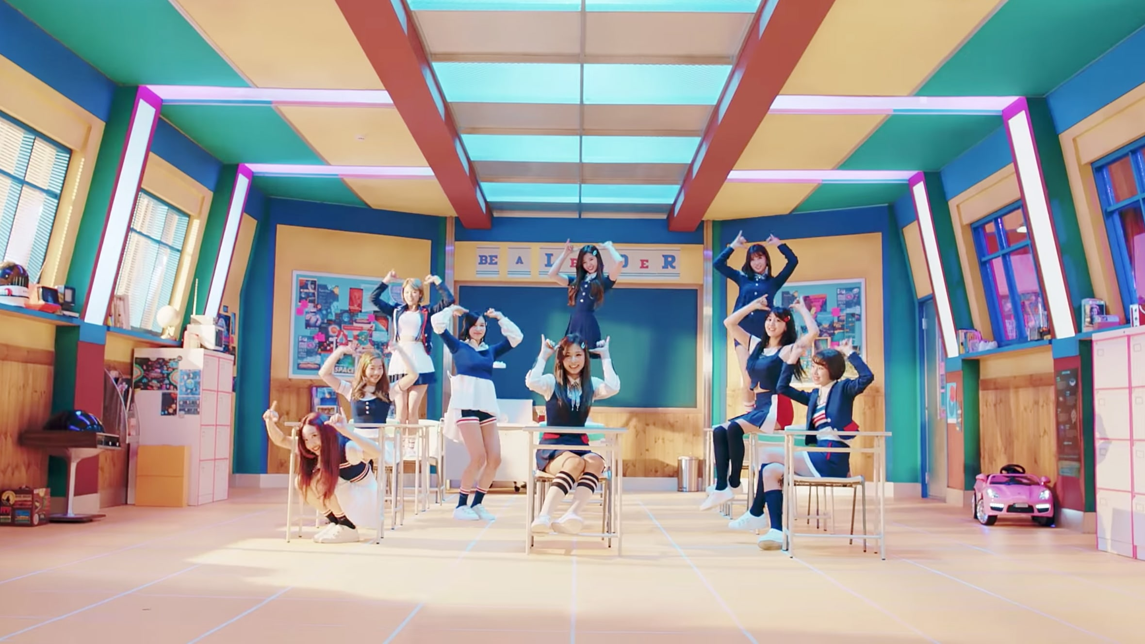 "Watch: TWICE Wants You To Send Them A ""Signal"" In Comeback MV"