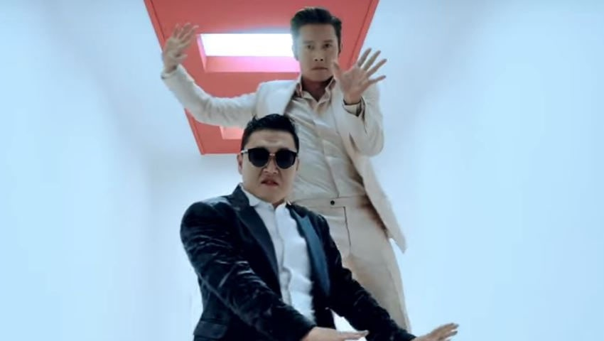 """PSY Reveals Why He Begged Lee Byung Hun To Make A Cameo In """"I LUV IT"""" MV"""