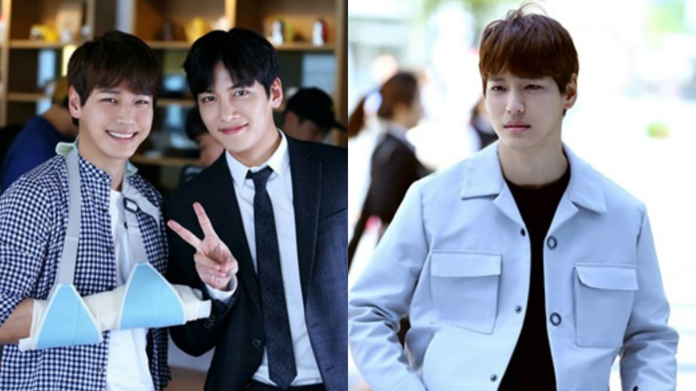 """Ji Il Joo Shares Behind-The-Scenes Photos Of His Special Appearance On """"Suspicious Partner"""""""