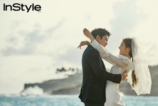 Joo Sang Wook And Cha Ye Ryun Open Up About Their Relationship In Beautiful Wedding Photo Shoot