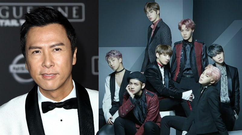 Donnie Yen Talks About His Experience Attending BTS's Hong Kong Concert With His Daughter