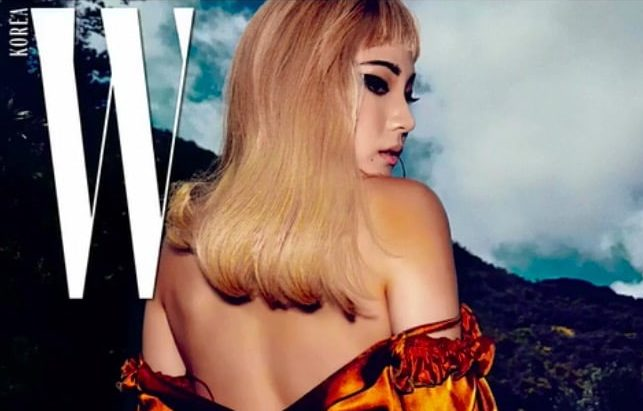 CL Shows Off Her Confident Charms In Swimwear For W Korea Magazine