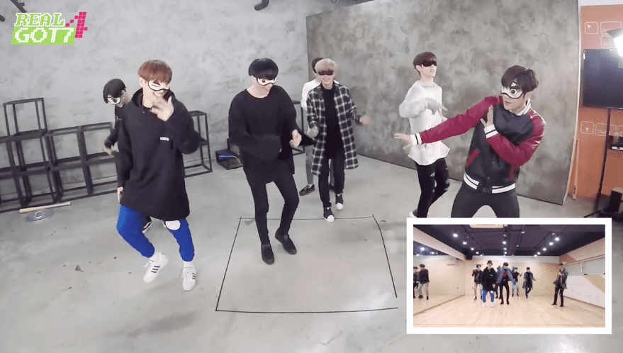 """Watch: GOT7 Goes From Impressive To Hilarious As They Dance """"Never Ever"""" At Double Speed, Then Blindfolded"""