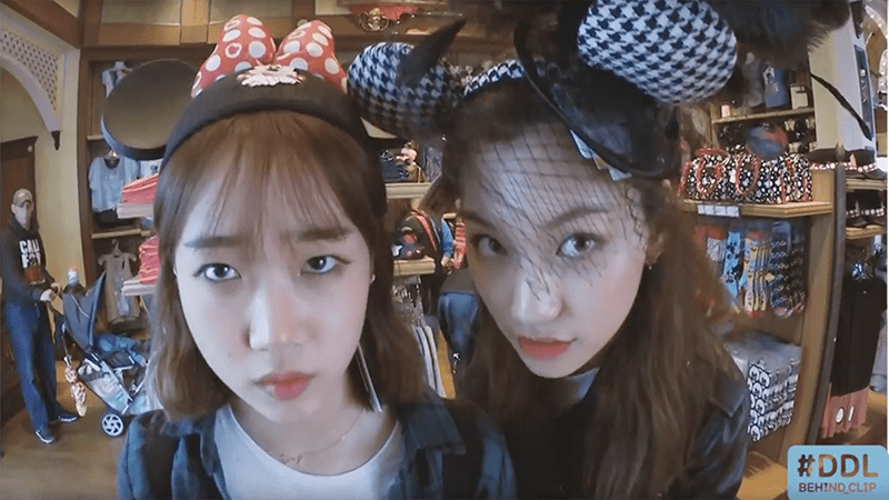 Watch: Choi Yoojung And Kim Doyeon Embrace Their Inner Child During Trip To Disneyland