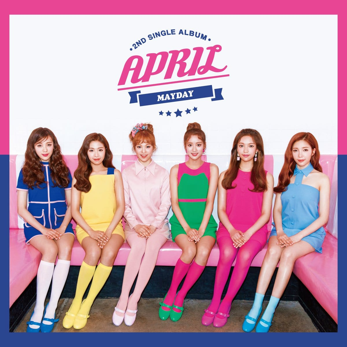 """Update: APRIL Reveals Preview Of Fun New Tracks From Single Album """"MAYDAY"""""""