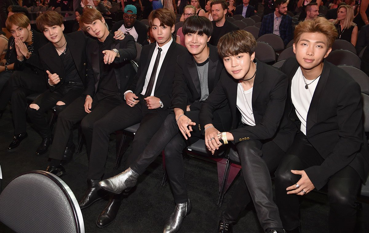 BTS Gets Noticed By Vogue For Their Style At The Billboard Music Awards