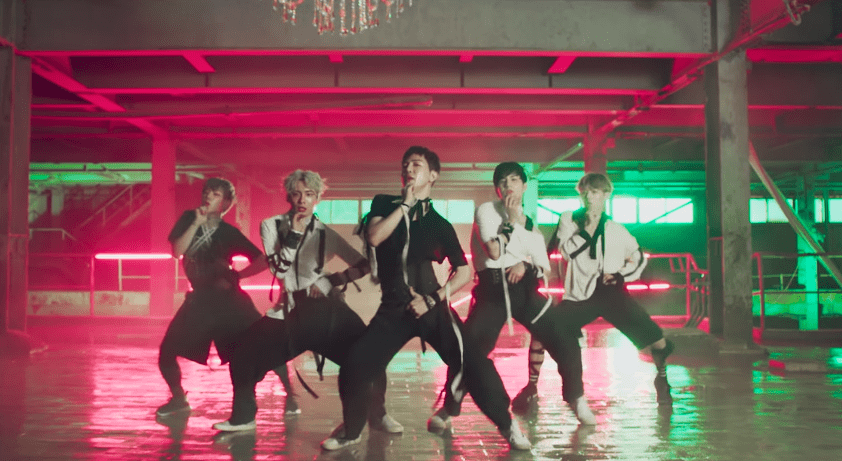 "Watch: Boy Group A.C.E Holds Their Ground With Debut MV For ""Cactus"""